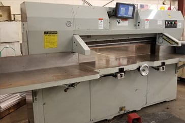 "Used 60"" Lawson Paper Cutter 60 MPU Machine"