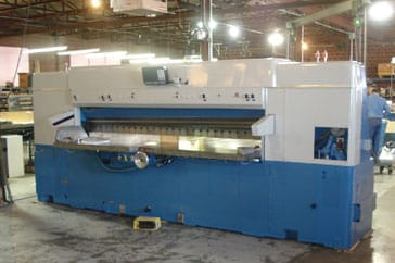 """Reconditioned 110"""" Lawson Paper Cutter 110 Pacemaker II Machine"""