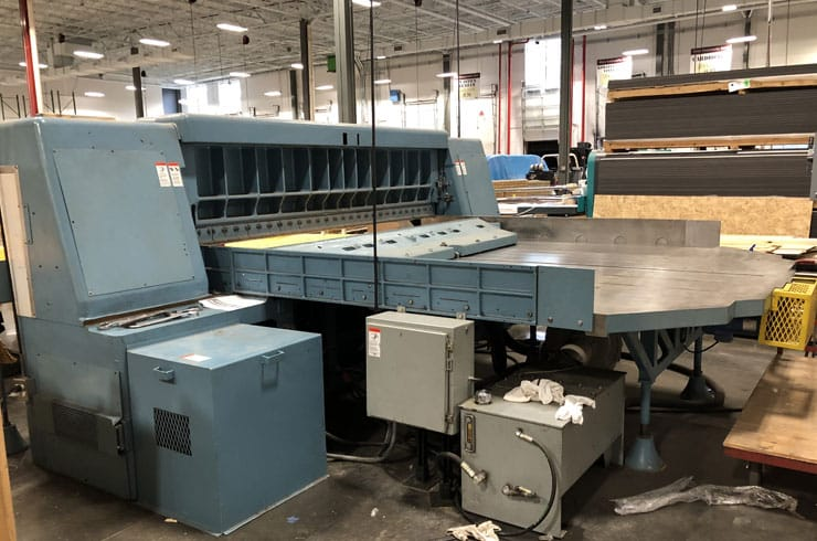 "Used Dexter Lawson 110"" 110 Pacemaker II Paper Cutter Thumnail Photo Three"