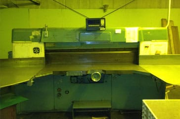 """Reconditioned 87"""" Lawson Paper Cutter 87 Pacemaker II Machine"""