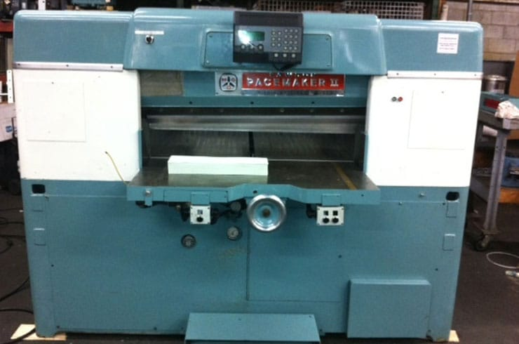 """Used Dexter Lawson 42"""" 42 Pacemaker II Paper Cutter Machine"""