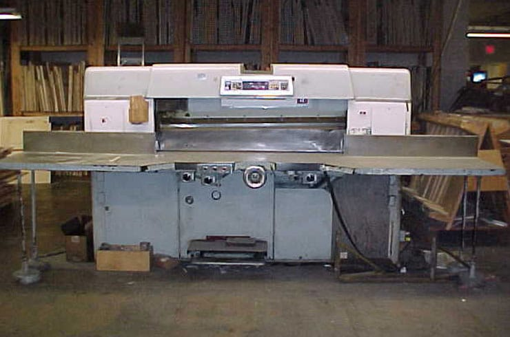 """Used Dexter Lawson 60"""" 60 Pacemaker II Paper Cutter Machine"""
