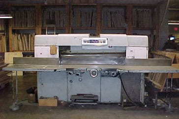 "Used 60"" Dexter Lawson Paper Cutter 60 Pacemaker II Machine"