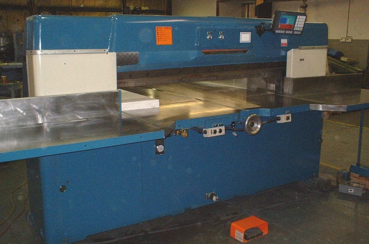 "Used Dexter Lawson 70"" 70 Pacemaker II Paper Cutter Machine"