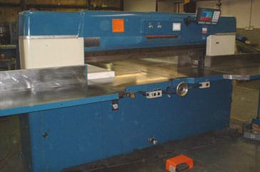 "Used 70"" Dexter Lawson Paper Cutter 70 Pacemaker II Machine"
