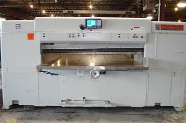 "Used 87"" Dexter Lawson Paper Cutter 87 Pacemaker II Machine"