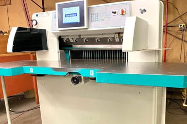 "Used 30"" Perfecta Paper Cutter 76 HTVC Machine"