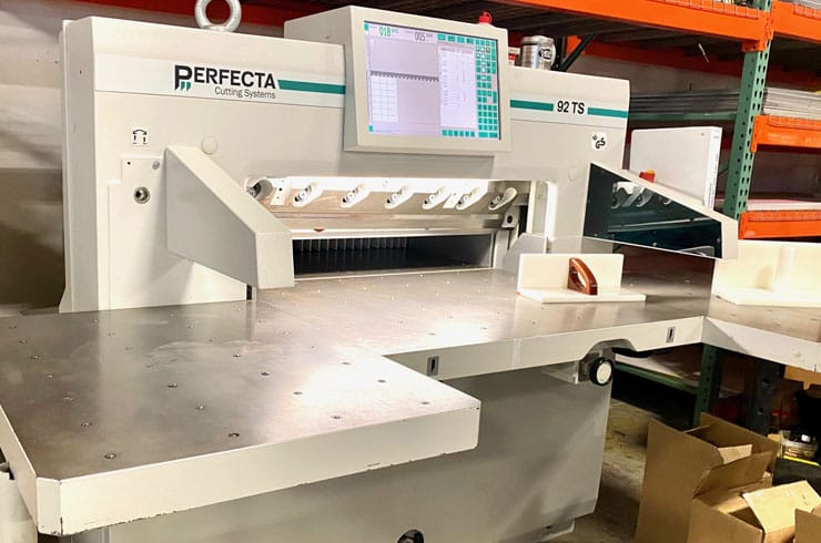 "Used Perfecta 36"" 92 TS Paper Cutter Machine"