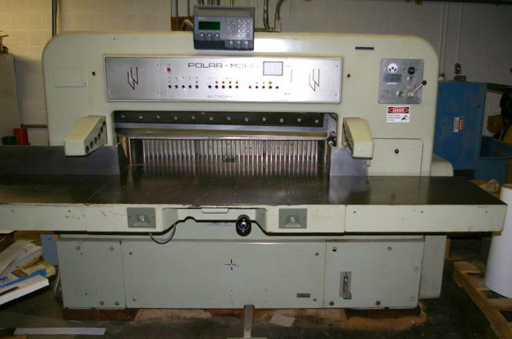 """Used Polar 45"""" CE Paper Cutter Machine"""