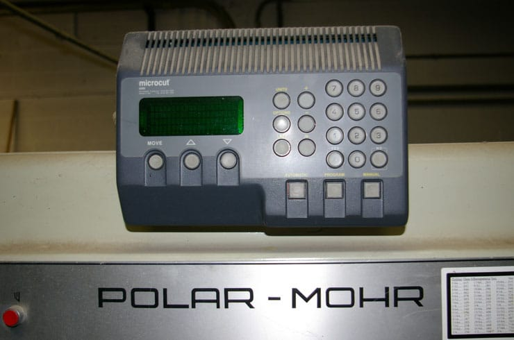 """Used Polar 45"""" CE Paper Cutter Thumnail Photo Two"""