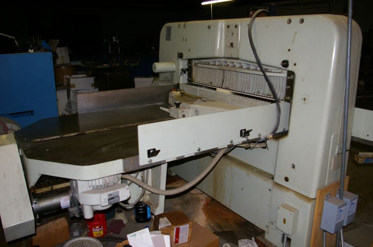 """Used Polar 45"""" CE Paper Cutter Thumnail Photo Three"""