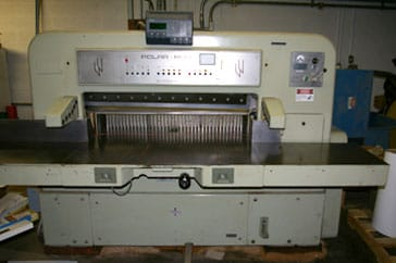 "Used 45"" Polar Paper Cutter CE Machine"