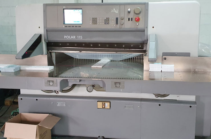 "Used Polar  45"" 115 ED Paper Cutter Thumnail Photo One"