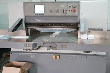 """Used  45"""" Polar Paper Cutter 115 ED Machine"""
