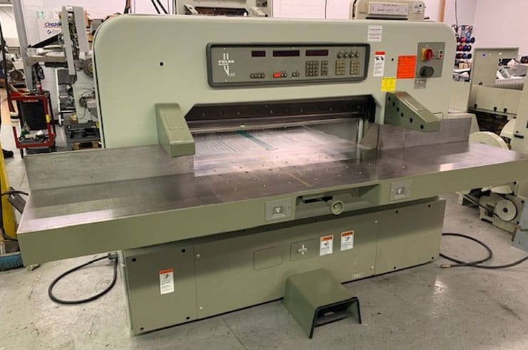 "Used Polar 45"" 115 EMC Paper Cutter Thumnail Photo One"
