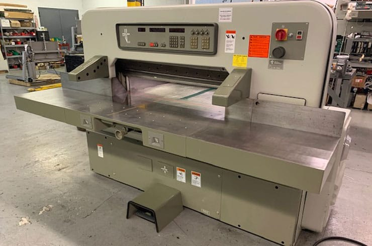 "Used Polar 45"" 115 EMC Paper Cutter Thumnail Photo Two"