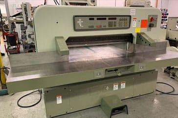 """Used 45"""" Polar Paper Cutter 115 EMC Machine"""
