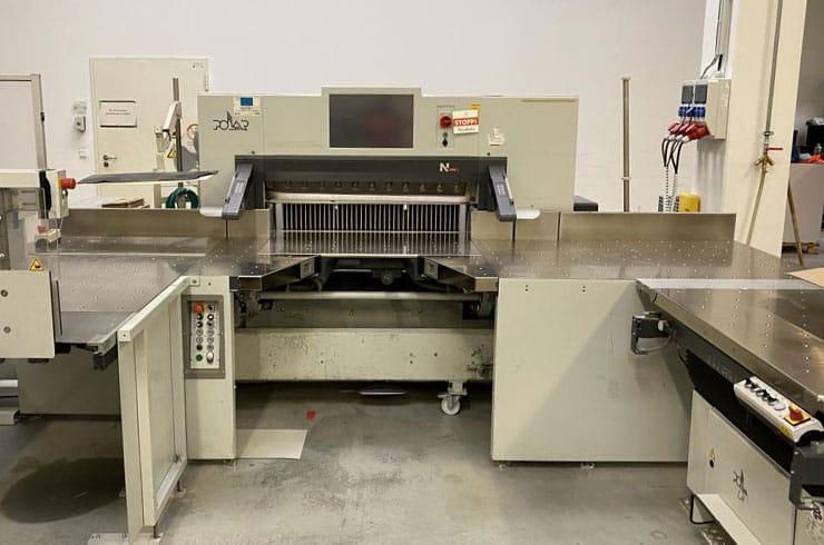 """Used Polar 45"""" 115 N - AT Cutting System Machine"""
