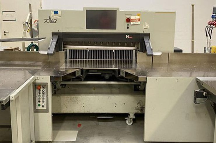 """Used Polar 45"""" N115- AT Cutting System Thumnail Photo Two"""