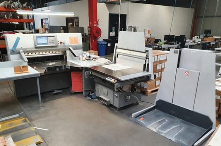 """Used Polar 45"""" 115 XT Cutting System Thumnail Photo Two"""
