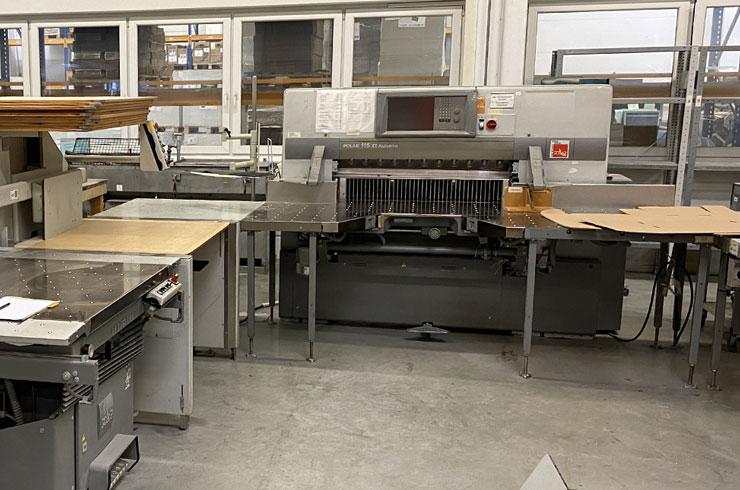 "Used Polar 45"" 115 XT - AT Cutting System Machine"