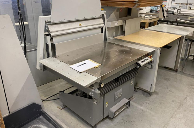 """Used Polar 45"""" 115 XT - AT Cutting System Thumnail Photo Two"""