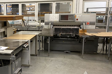 "Used 45"" Polar Cutting System 115 XT - AT Machine"