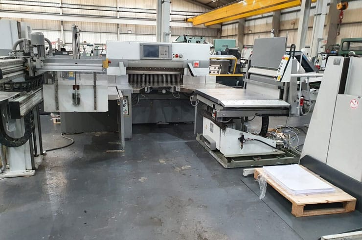 "Used Polar 45"" 115XT Flowline Cutting System Machine"