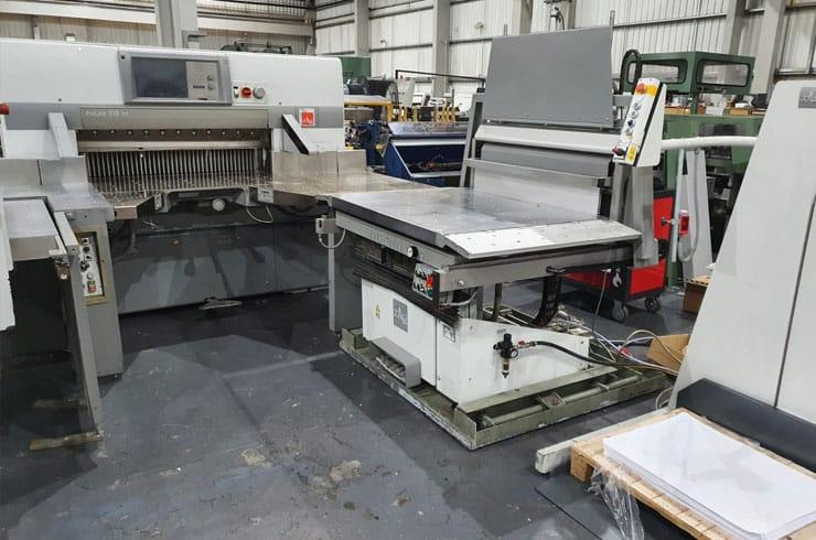 "Used Polar 45"" 115XT Flowline Cutting System Thumnail Photo Three"