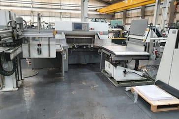 "Used 45"" Polar Cutting System 115XT Flowline Machine"