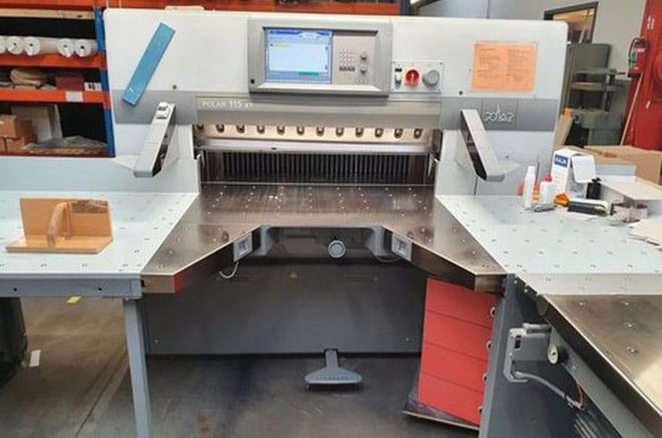 """Used Polar 45"""" 115 XT Cutting System Machine"""