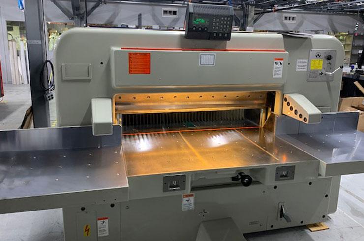 """Used Polar 45"""" 115 CE Paper Cutter Machine"""