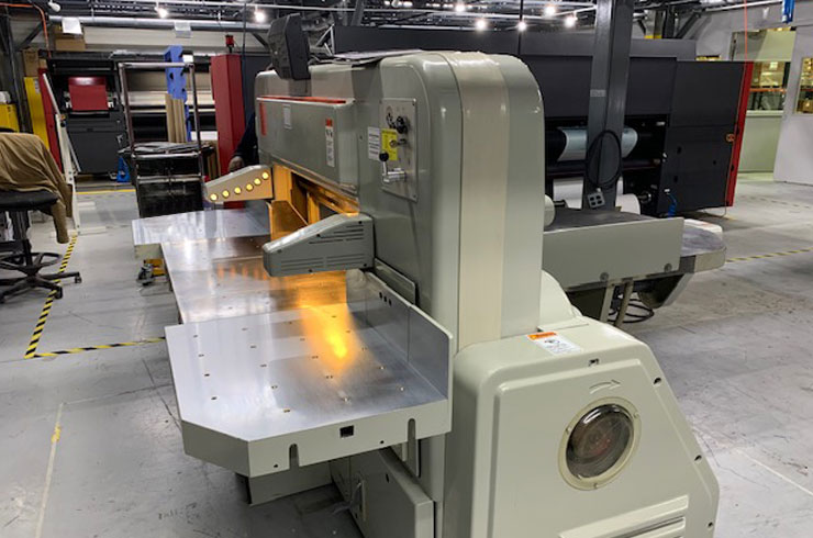 """Used Polar 45"""" 115 CE Paper Cutter Thumnail Photo Two"""