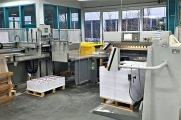 "Used 54"" Polar Cutting System 137 X Plus Machine"