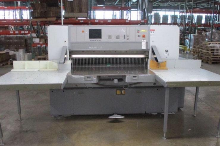 """Used Polar 54"""" 137 ED Paper Cutter Machine"""