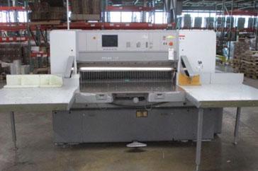 """Used 54"""" Polar Paper Cutter 137 ED Machine"""