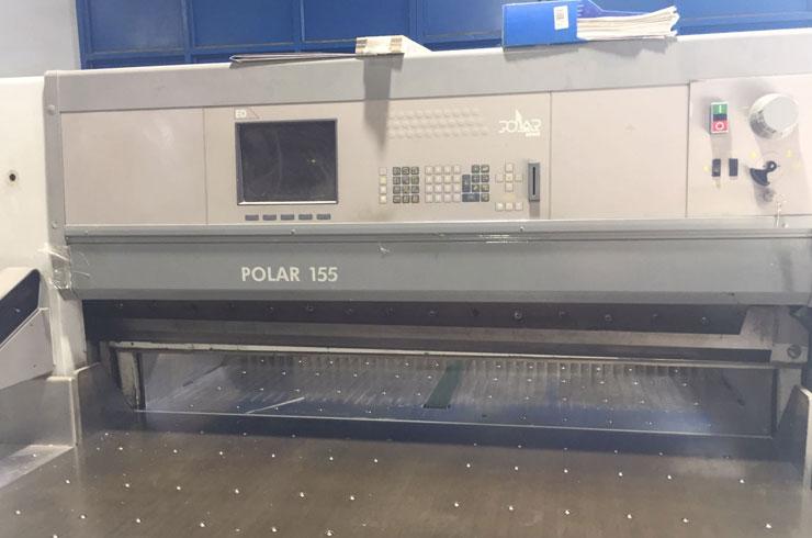 """Used Polar 61"""" 155 ED Cutting System Machine"""
