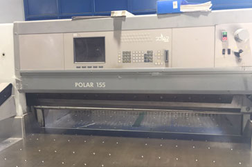 "Used 61"" Polar Cutting System 155 ED Machine"