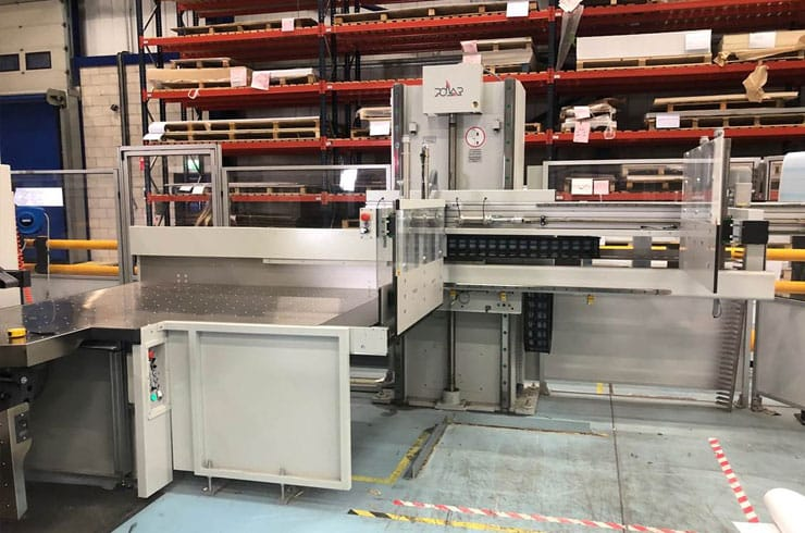 """Used Polar 69"""" 176 N Plus Cutting System Thumnail Photo Two"""