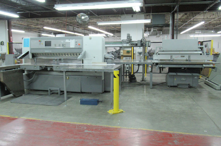 "Used Polar 69"" ED Cutting System Machine"