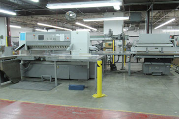 "Used 69"" Polar Cutting System ED Machine"