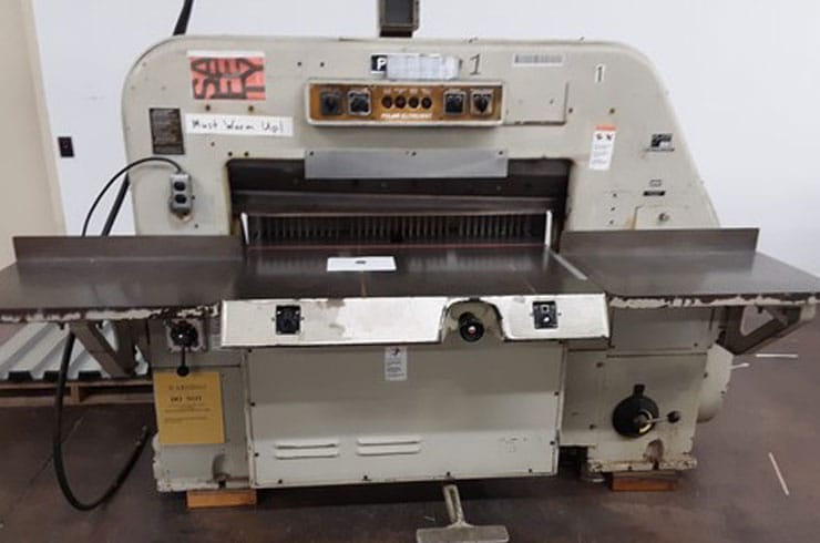 "Used Polar 42"" 107 EL Paper Cutter Machine"