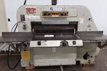 "Used 42"" Polar Paper Cutter 107 EL Machine"