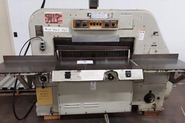 """Used 42"""" Polar Paper Cutter 107 EL Machine"""