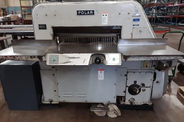 """Used  42"""" 107 EL Paper Cutter Machine"""