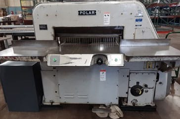 "Used 42""  Paper Cutter 107 EL Machine"