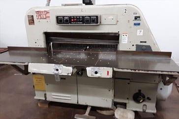 """Used 42""""  Paper Cutter 107 EL Machine"""