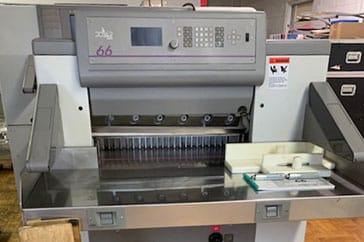 """Used 26"""" Polar Paper Cutter 66 Machine"""