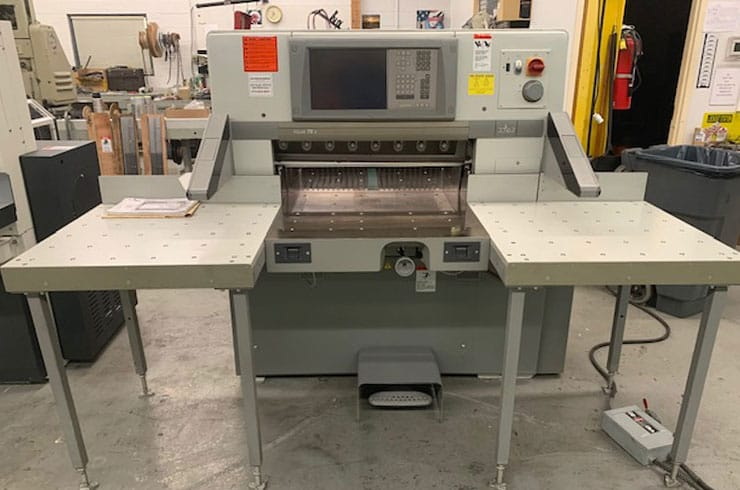 "Used  30"" 78 X Paper Cutter Machine"