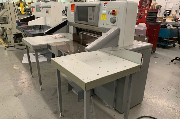 "Used  30"" 78 X Paper Cutter Thumnail Photo Three"